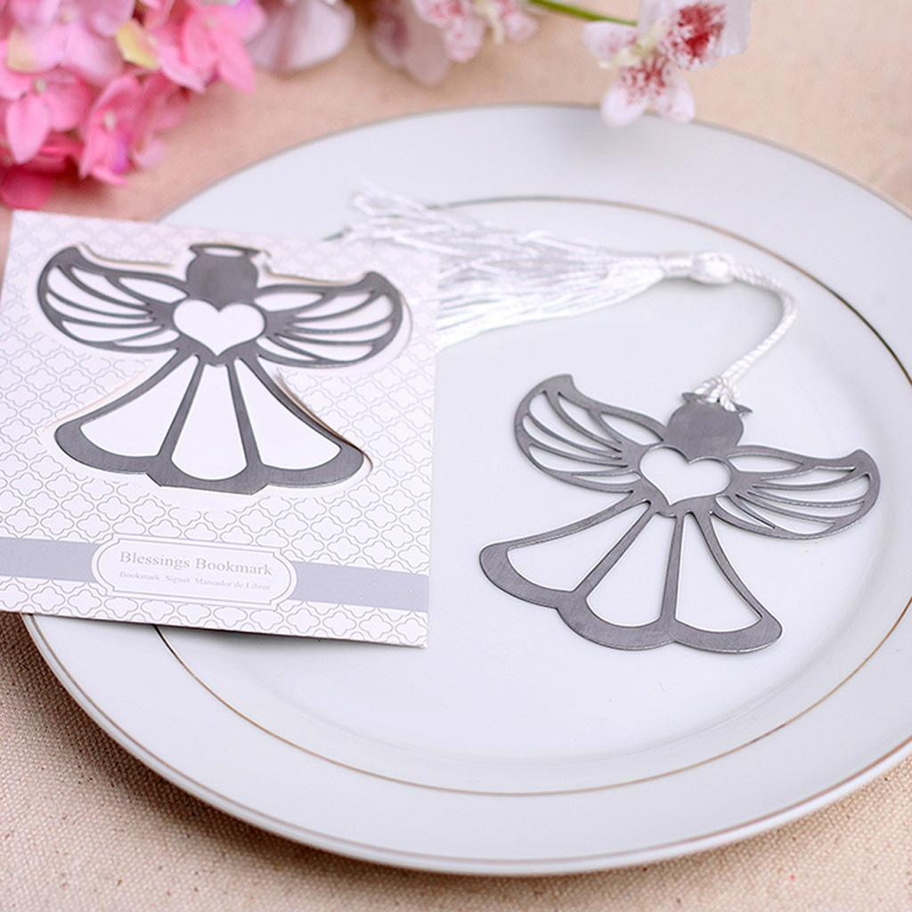 Creative Angel Pattern Bookmark Label Stationary Wedding Party Supplies Ceremony Gift