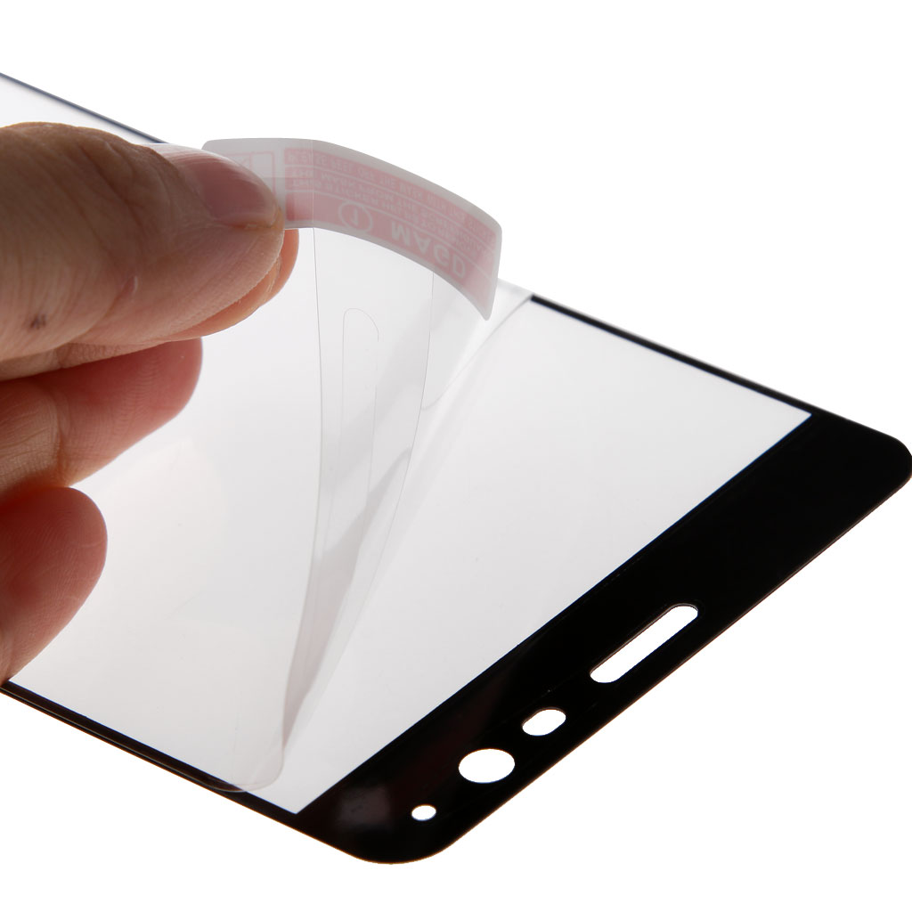 9H Full Covered Tempered Glass Film Screen Protector Cover for One plus 3 / Three 5.5 inch Black