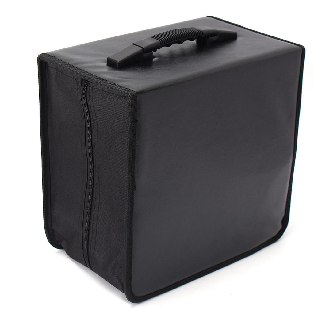 520Disc CD DVD Video Game Wallet Storage Organizer Holder Case Bag Album Box