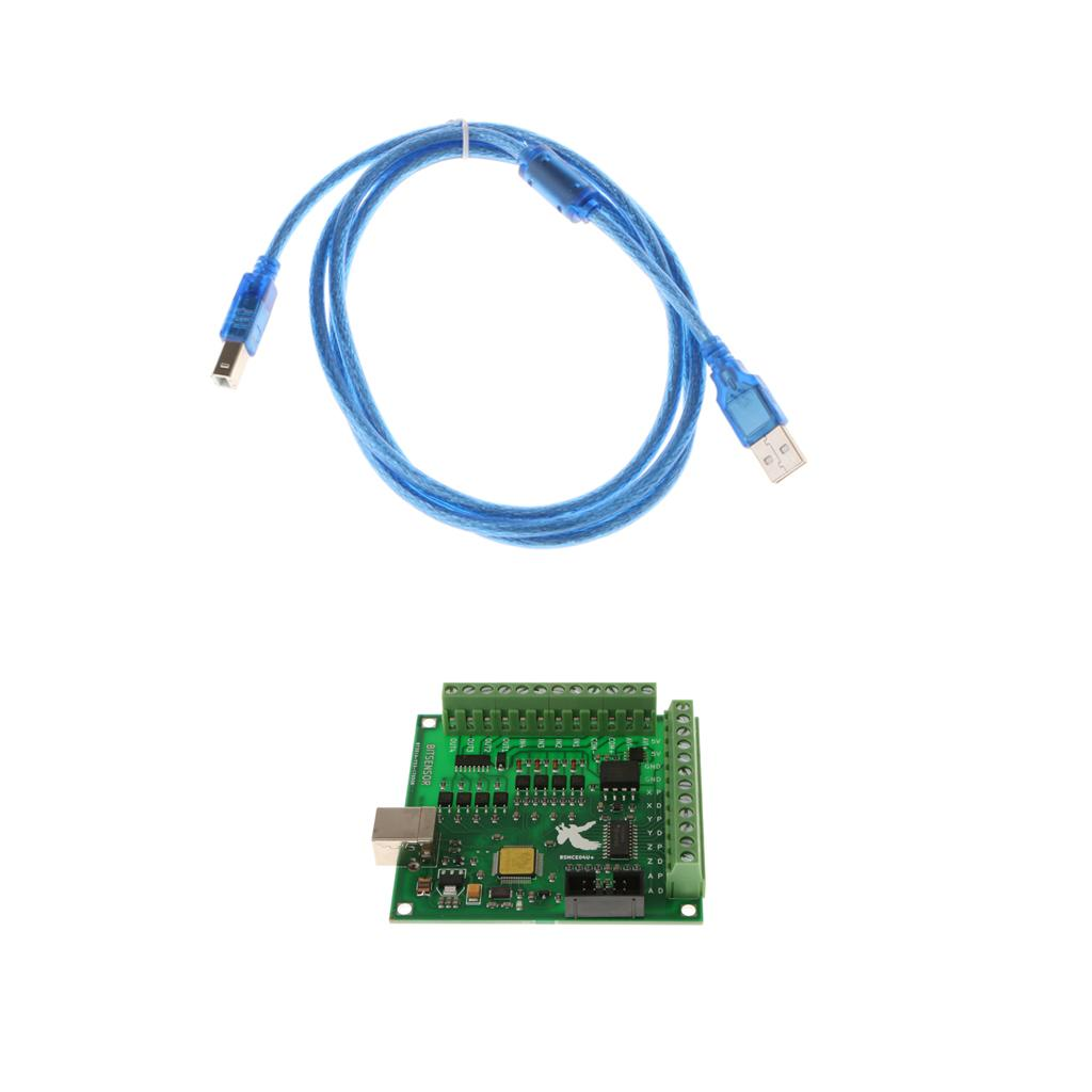 Bafulia India | Dropshipping CNC MACH3 USB 4 Axis 100KHz Breakout