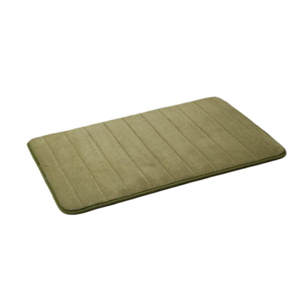 Non-Slip High Elastic Soft Shaggy Area Rug Room Carpet Doormat For Bedroom Dining Room Decor Green