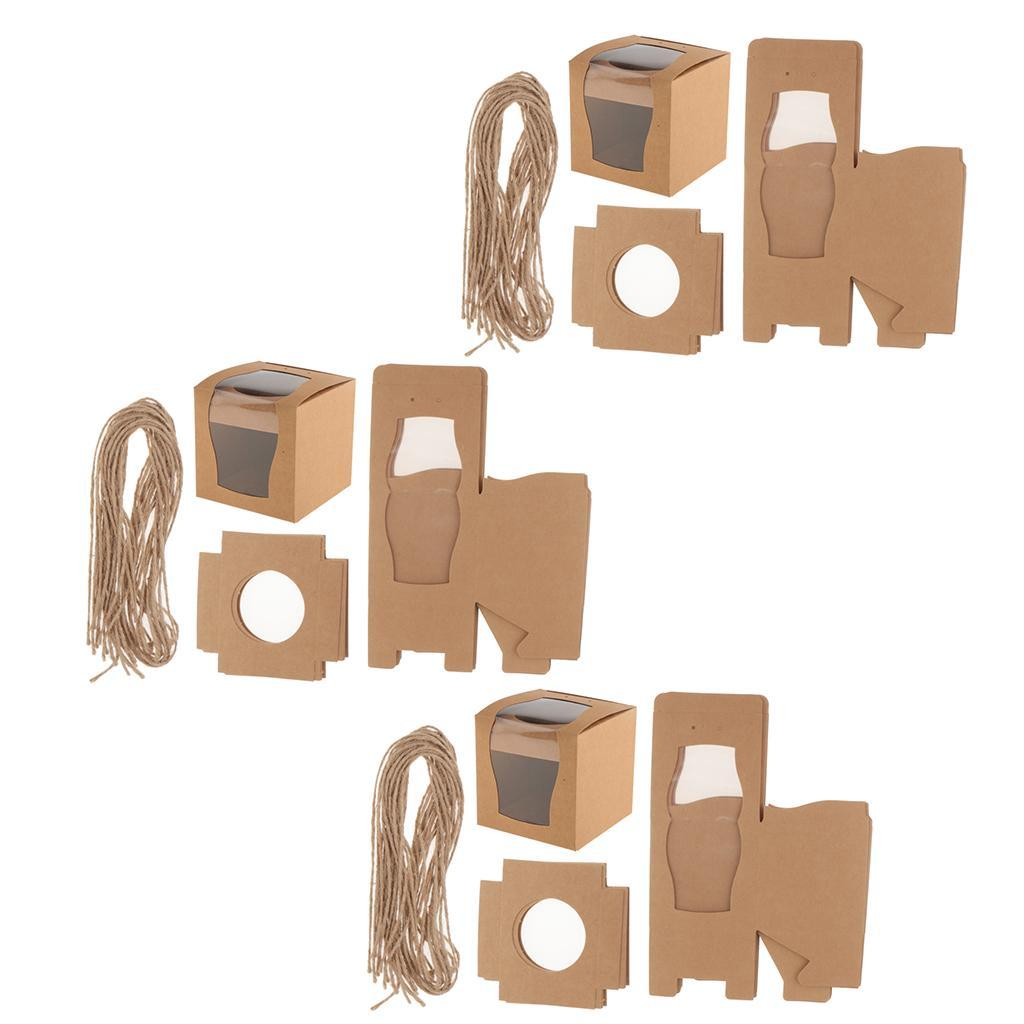 36Pcs Wedding Cake Box Storage Organizers Containers Gift Wr