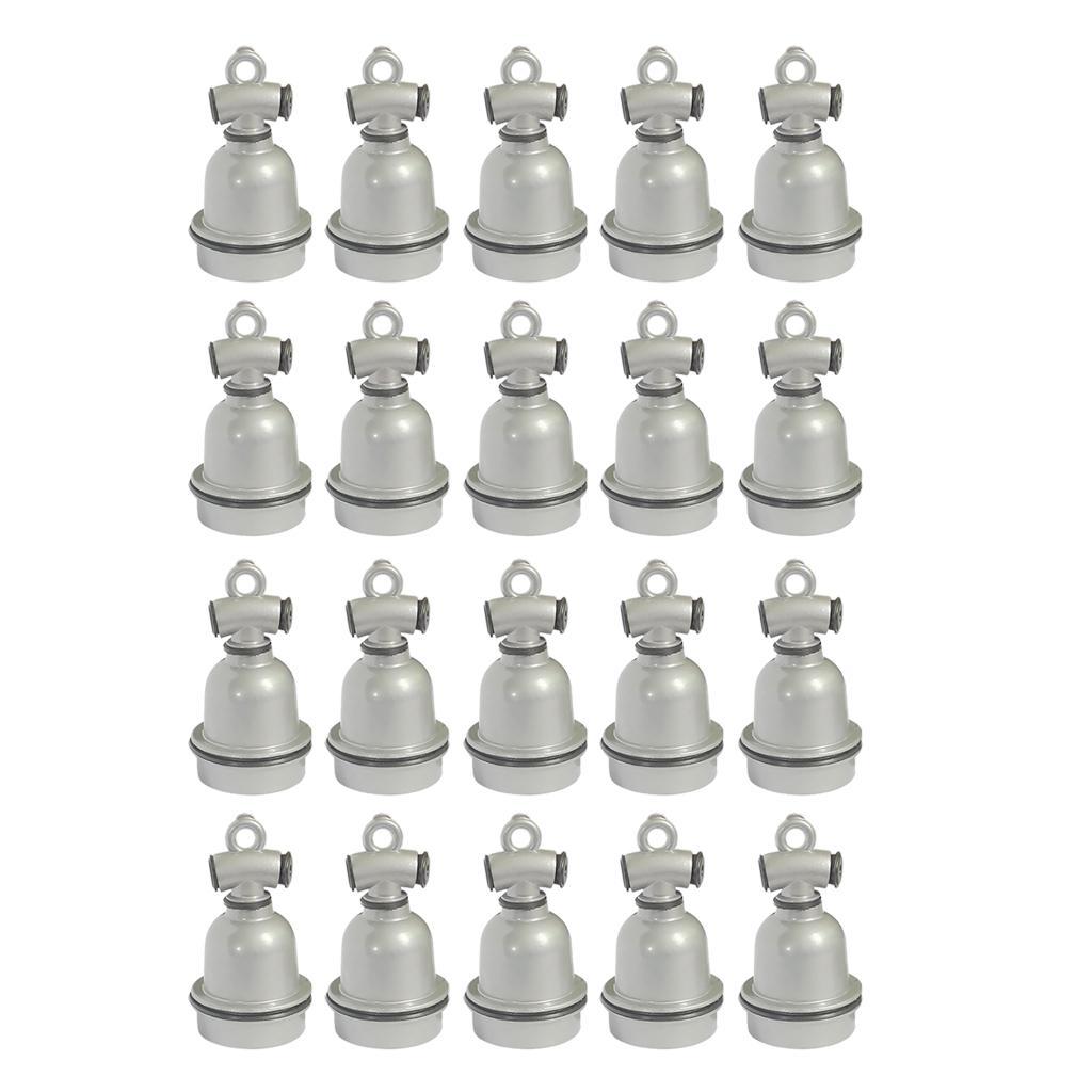 20x E27 Wasserdichte Aluminium Glühbirne Heizung Halter Lampen steckdose für