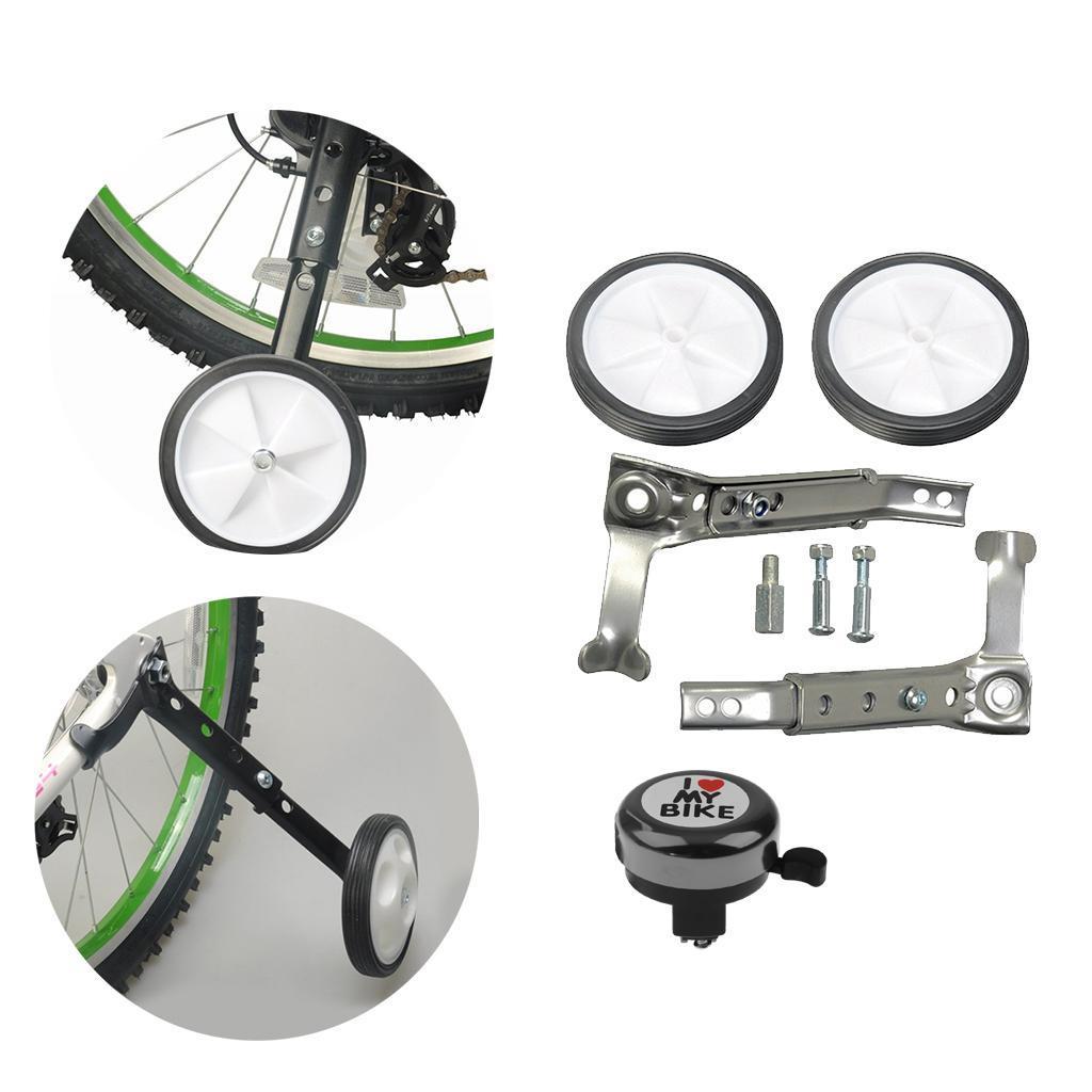 Kid Bike Stabilizer Bicycle Training Support Wheel 16-24inch Heavy Duty