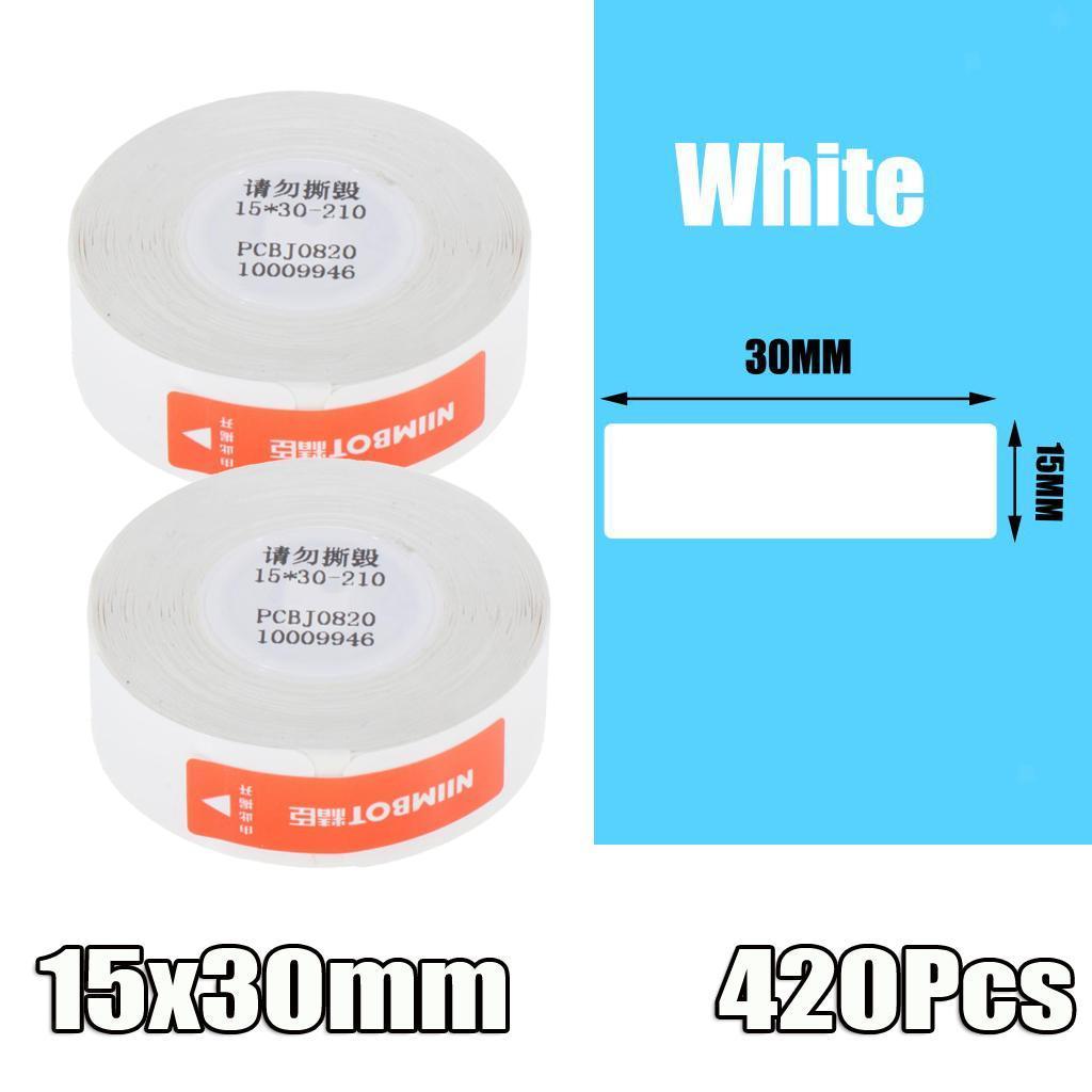 miniatura 9 - 2x etichette adesive per etichette per stampante termica Niimbot D11 Pure Color