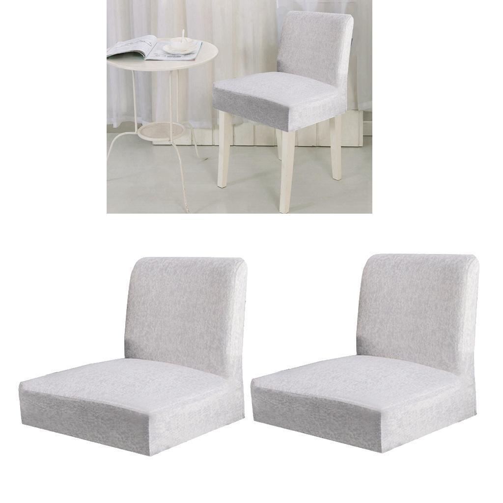 2pcs-chaise-de-salle-a-manger-a-dos-court-couvre-tabouret-de-comptoir-de-bar miniature 4