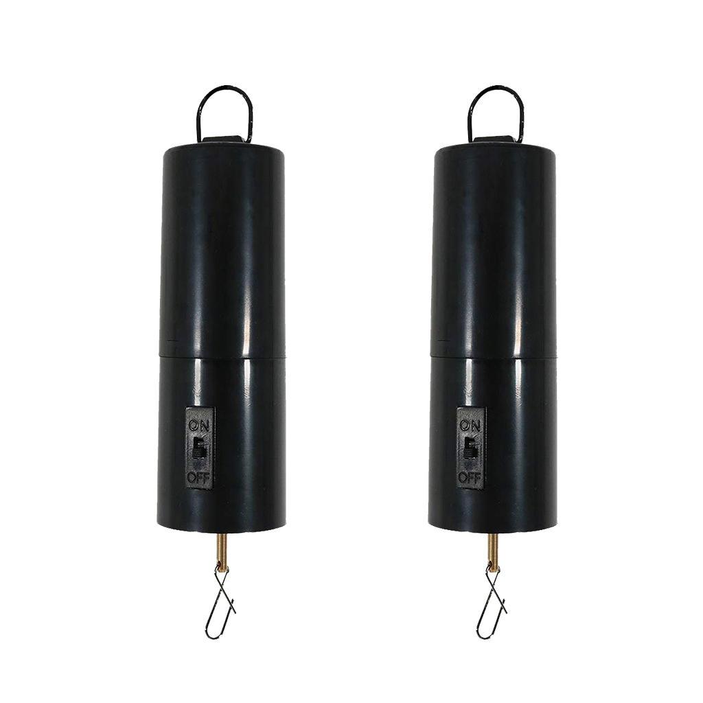 2Pcs Whirligig Wind Spinner Battery Operated Motor Hanging Display Motor