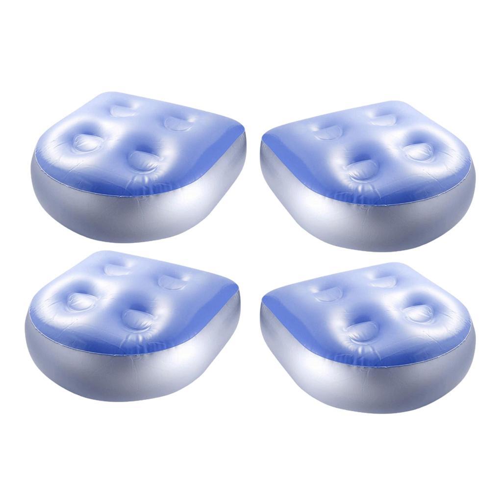 4x Spa Booster Sitz Komfortable Whirlpool Kissenpolsterfüllung für Erwachsene