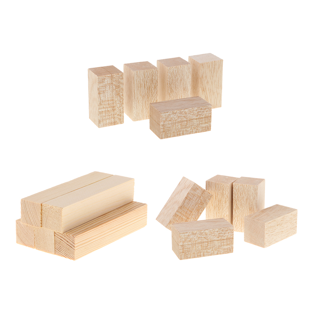 15x Mixed Balsa Wood Sticks for Woodworking Projects Model ...