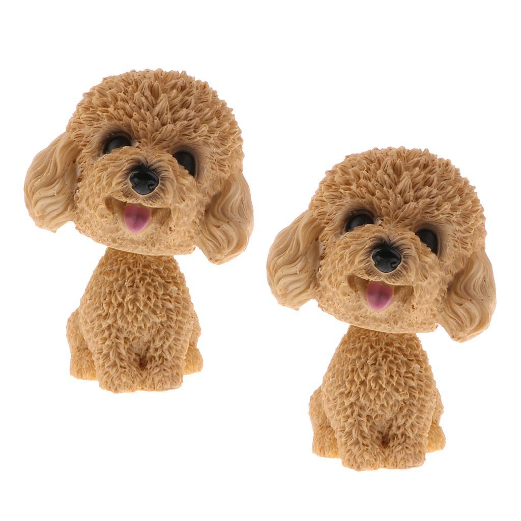 2pcs-Car-Auto-Interior-Doll-Ornaments-Nodding-Shaking-Head-Dog-Puppy-Model-Toys thumbnail 9