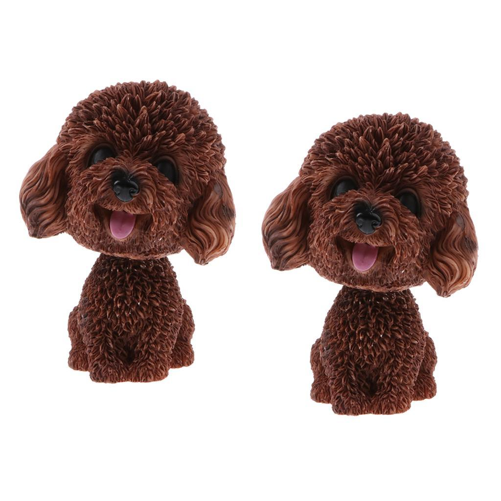 2pcs-Car-Auto-Interior-Doll-Ornaments-Nodding-Shaking-Head-Dog-Puppy-Model-Toys thumbnail 11