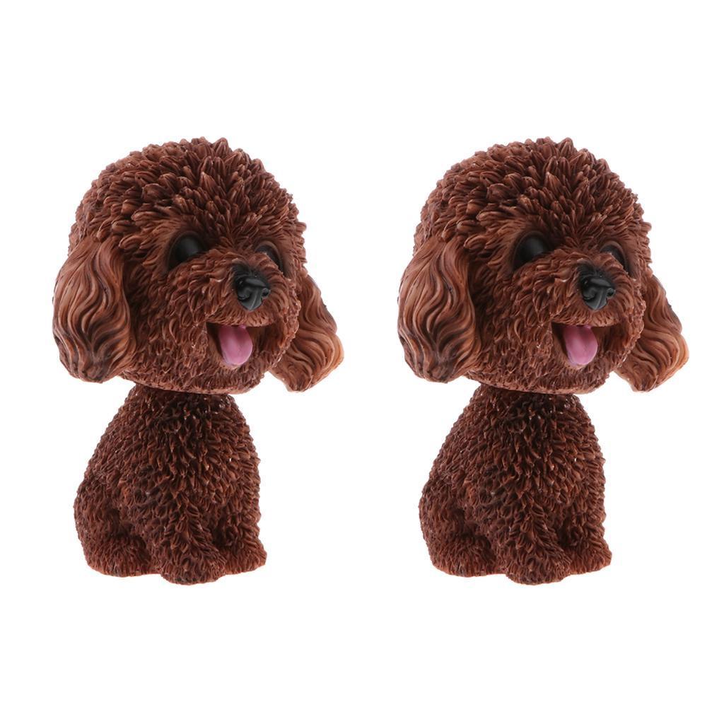 2pcs-Car-Auto-Interior-Doll-Ornaments-Nodding-Shaking-Head-Dog-Puppy-Model-Toys thumbnail 12