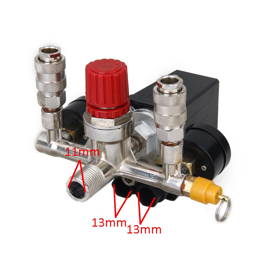 druckschalter druckregler regelventil sg 3 kit f r luft kompressor wasserpumpe ebay. Black Bedroom Furniture Sets. Home Design Ideas