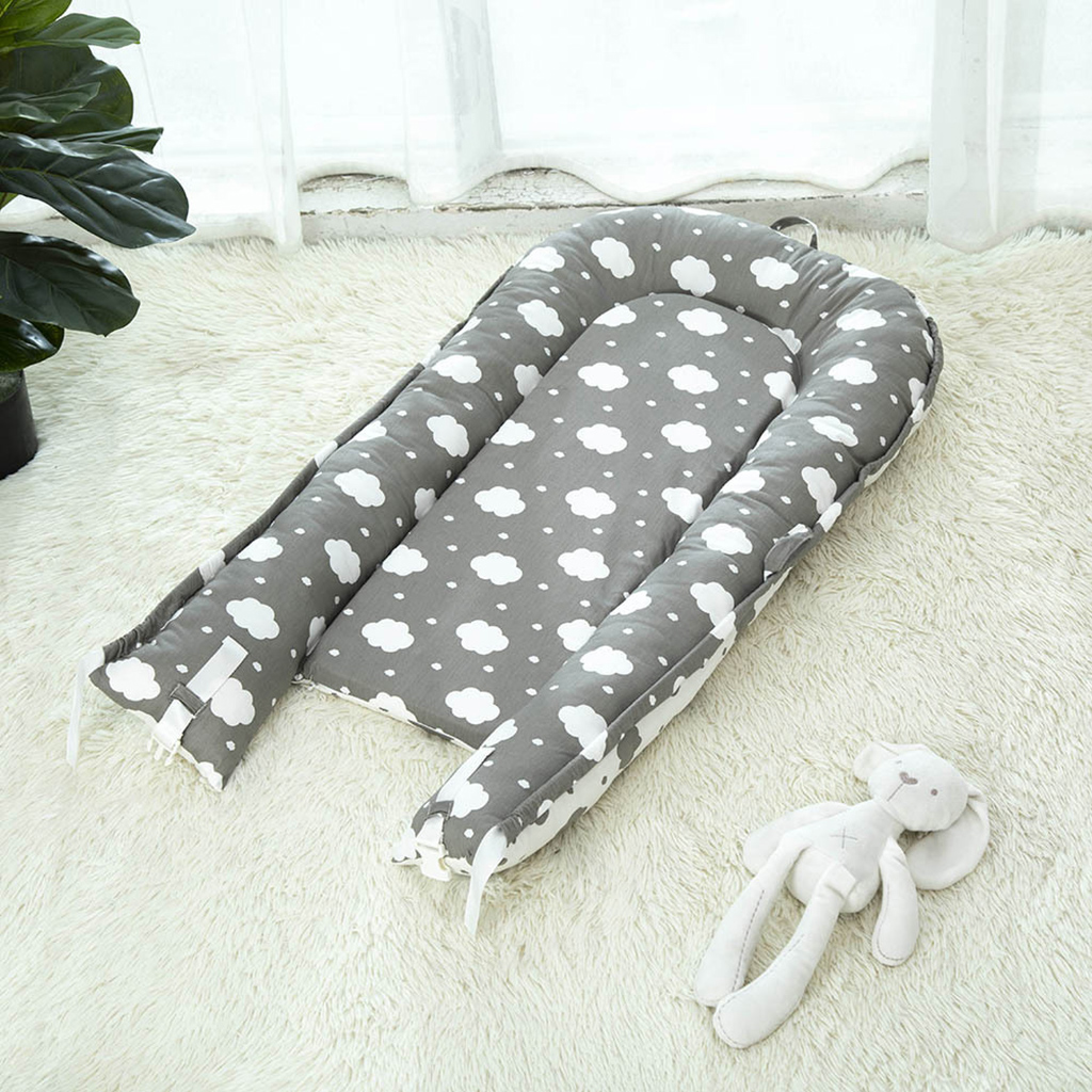 Baby Stubenwagen Bett Weiches Neugeborenes Tragbare Babyliege Nest Krippe