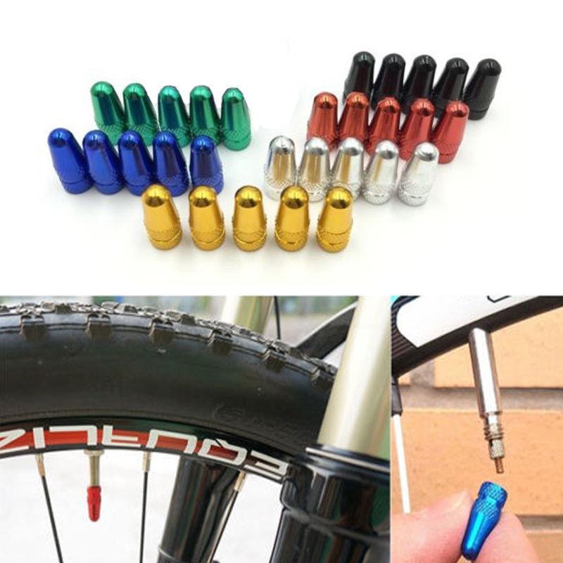 2PCS Bike Bicycle MTB presta//french Wheel Rim Tyre Stem Air Valve Cap Dust Cover