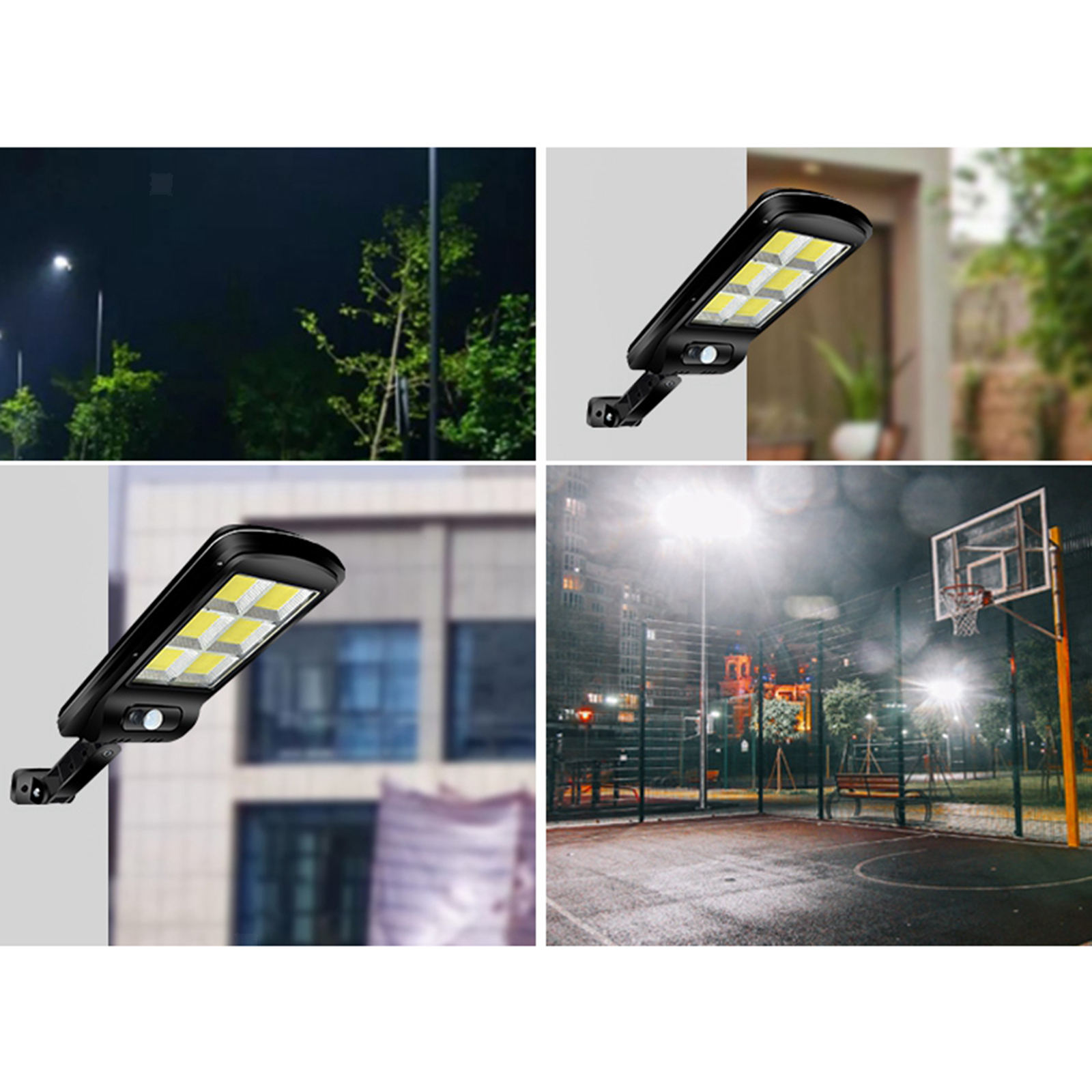 Corps-de-reverbere-a-LED-a-energie-solaire-detectant-la-lumiere miniatura 25