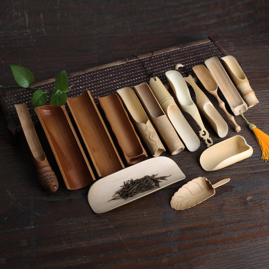 thumbnail 4 - Handmade-Bamboo-Cha-Dao-Set-Gongfu-Tea-Ceremony-Utensils-Tools
