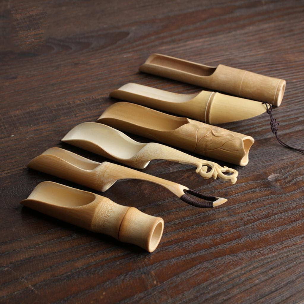 thumbnail 5 - Handmade-Bamboo-Cha-Dao-Set-Gongfu-Tea-Ceremony-Utensils-Tools