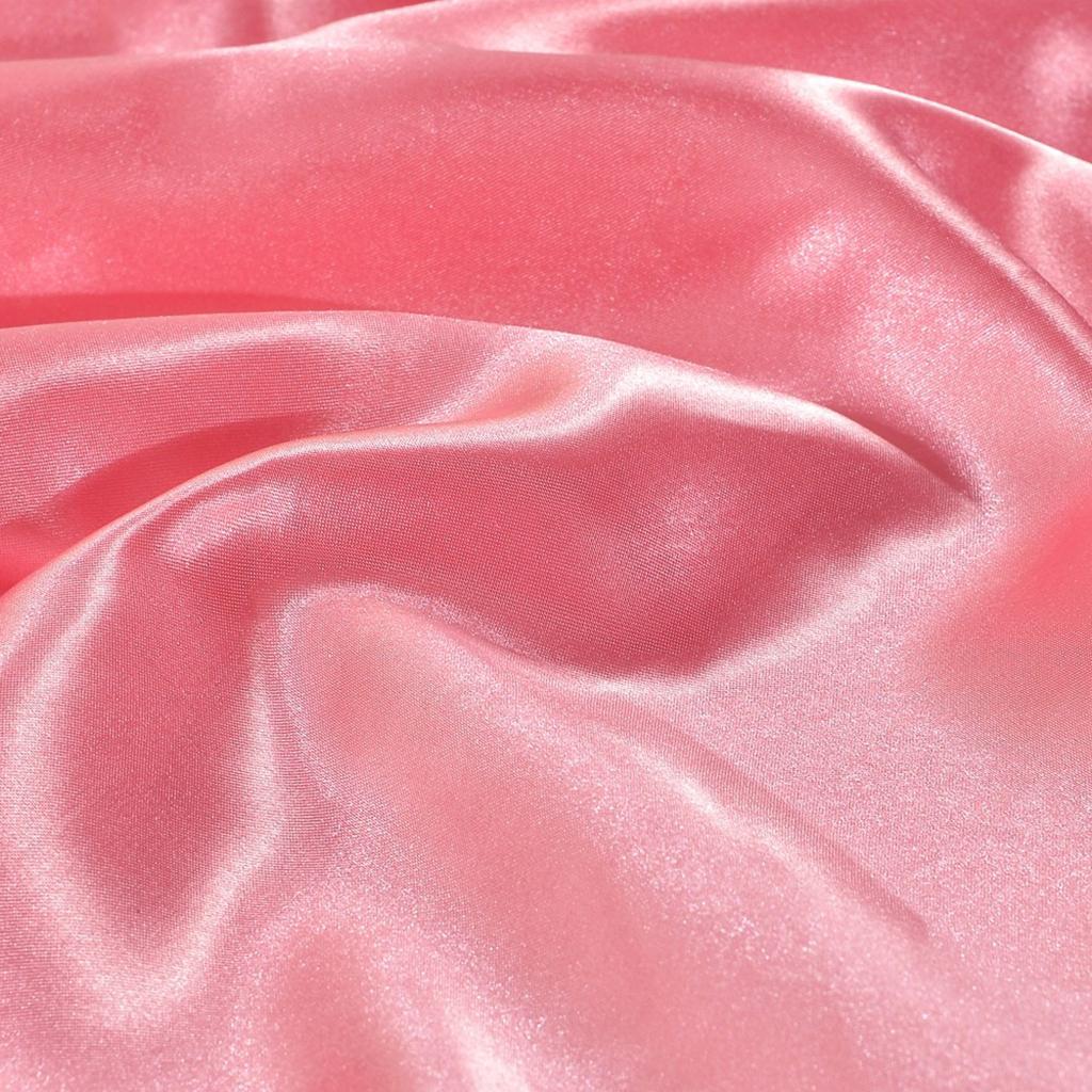 Indexbild 7 - 1 Paar Einfarbig Satin Soft Kissenbezüge Kopfkissenbezug, Farben Und Size