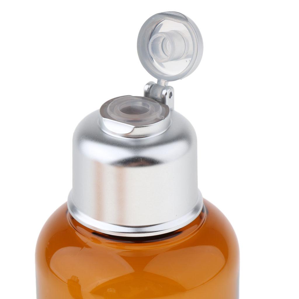 3stk-Kunststoff-Quetschflasche-Kosmetikflasche-Reiseflasche-Fluessigkeit Indexbild 4