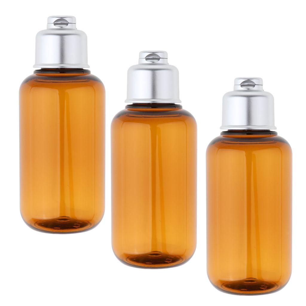 3stk-Kunststoff-Quetschflasche-Kosmetikflasche-Reiseflasche-Fluessigkeit Indexbild 3