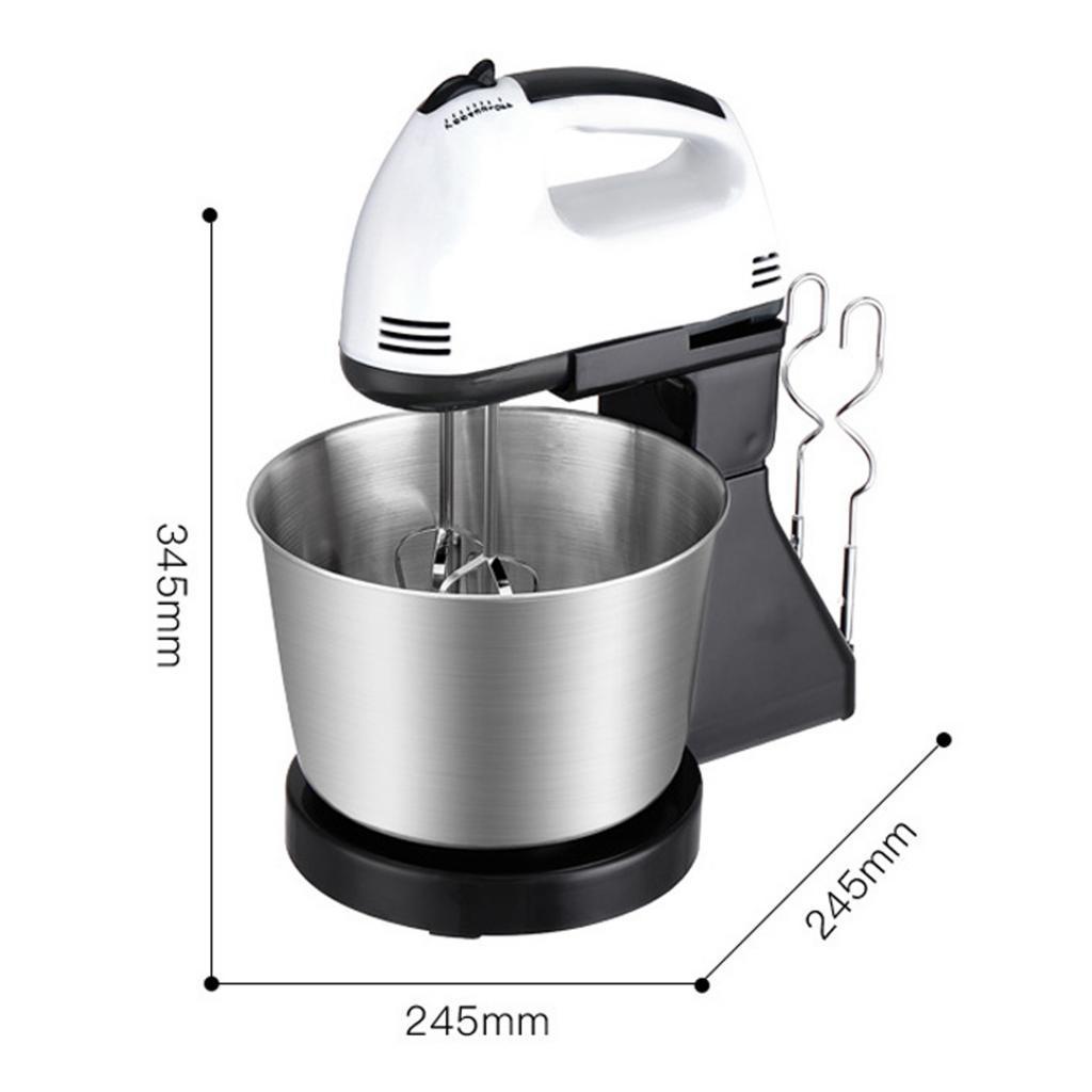 Elektrische Hand Mixer 7 Speed mit Eimer Stand Mixer Leichte fr Kche   eBay