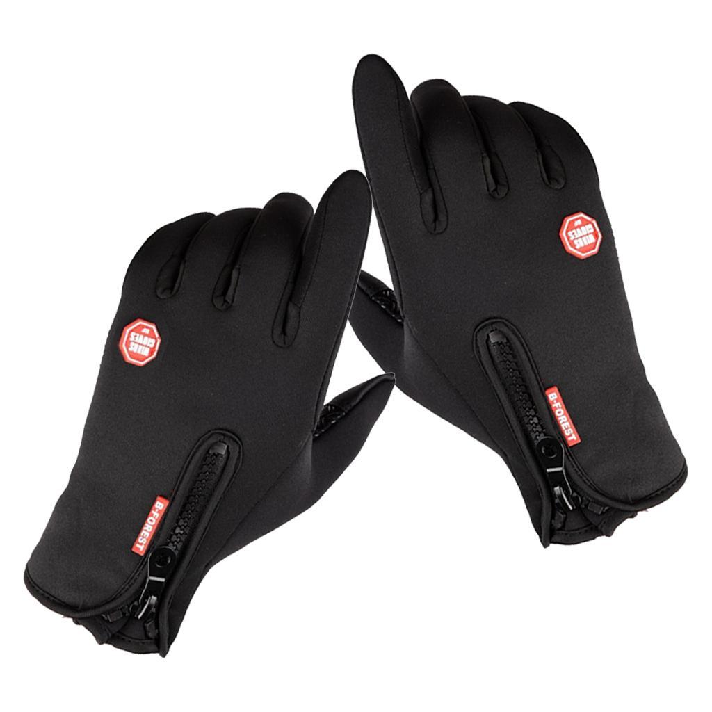 1 Pair Gloves Thermal Outdoor Sport Glove Touch Screen Anti-Skid Ski Mitten