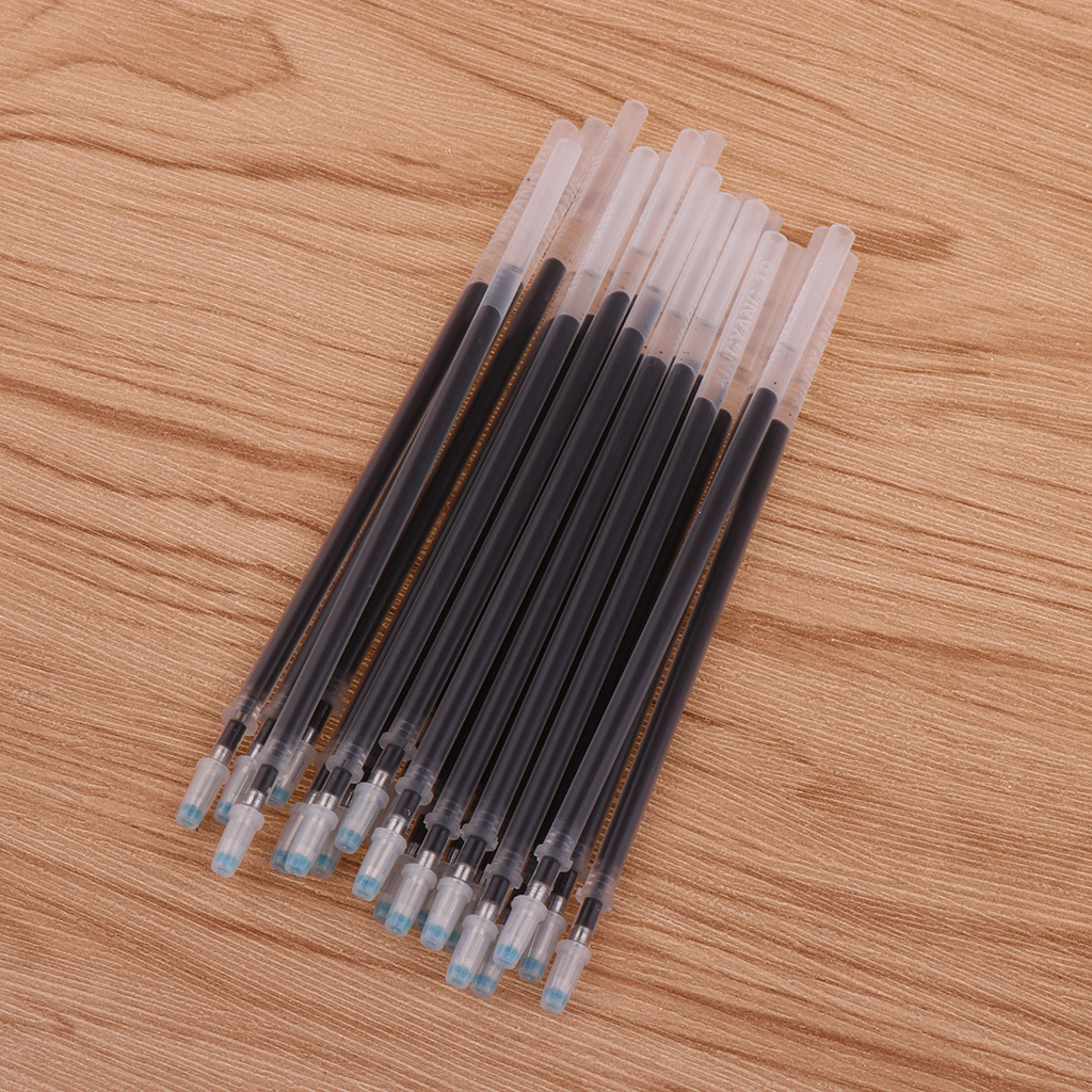 20-Stuck-Markierstiftminen-von-Leder-Marking-Pen-Hochtemperatur-Verschwinden thumbnail 9