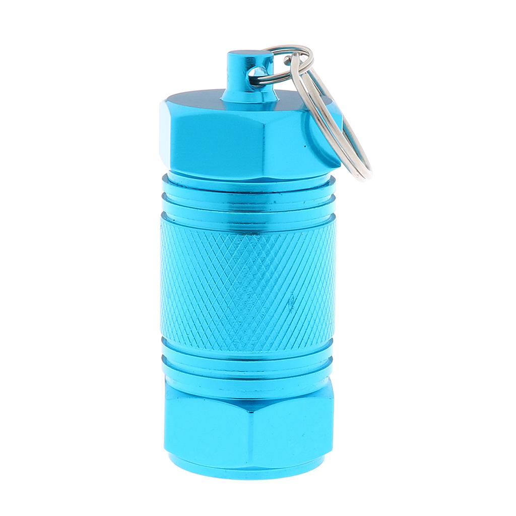 Cartuccia-portacontainer-in-alluminio-con-contenitore-per-pillole miniatura 4