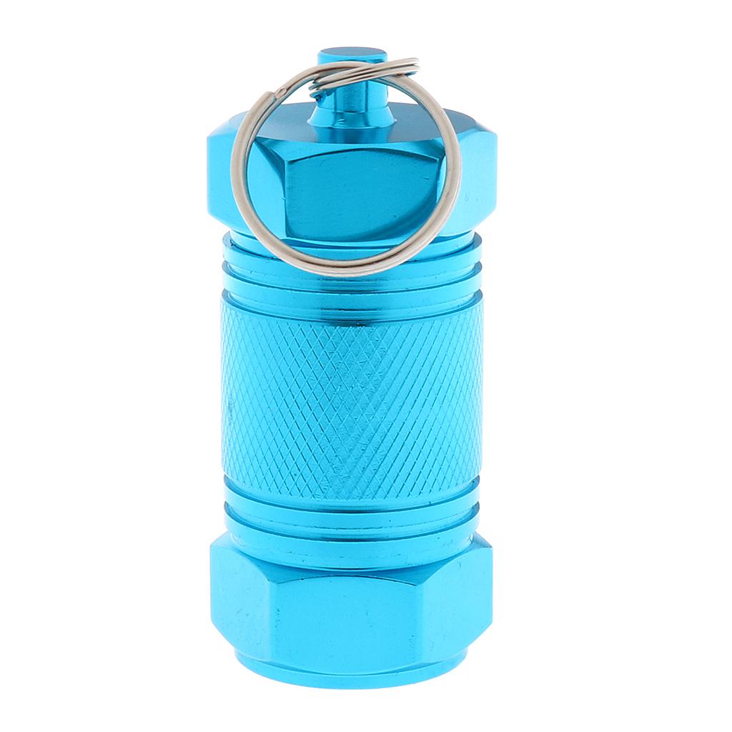 Cartuccia-portacontainer-in-alluminio-con-contenitore-per-pillole miniatura 3