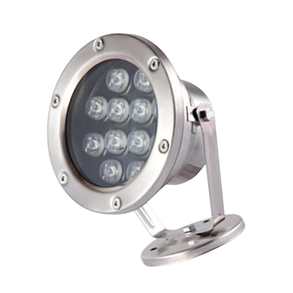 miniatura 10 - Illuminazione Subacquea LED Luce Spot Punto Laghetto Acquario Piscina