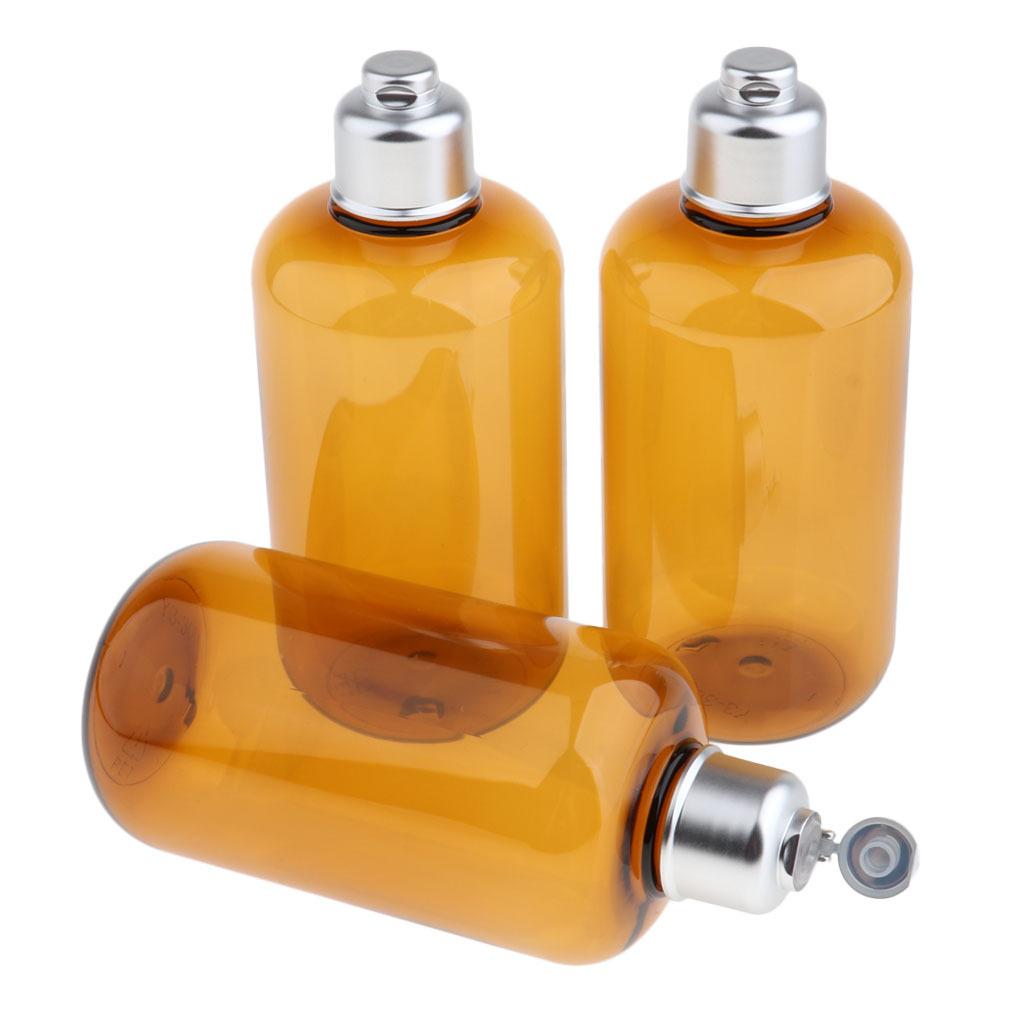 3stk-Kunststoff-Quetschflasche-Kosmetikflasche-Reiseflasche-Fluessigkeit Indexbild 6