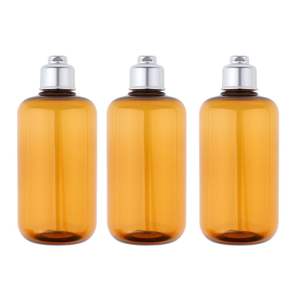 3stk-Kunststoff-Quetschflasche-Kosmetikflasche-Reiseflasche-Fluessigkeit Indexbild 7