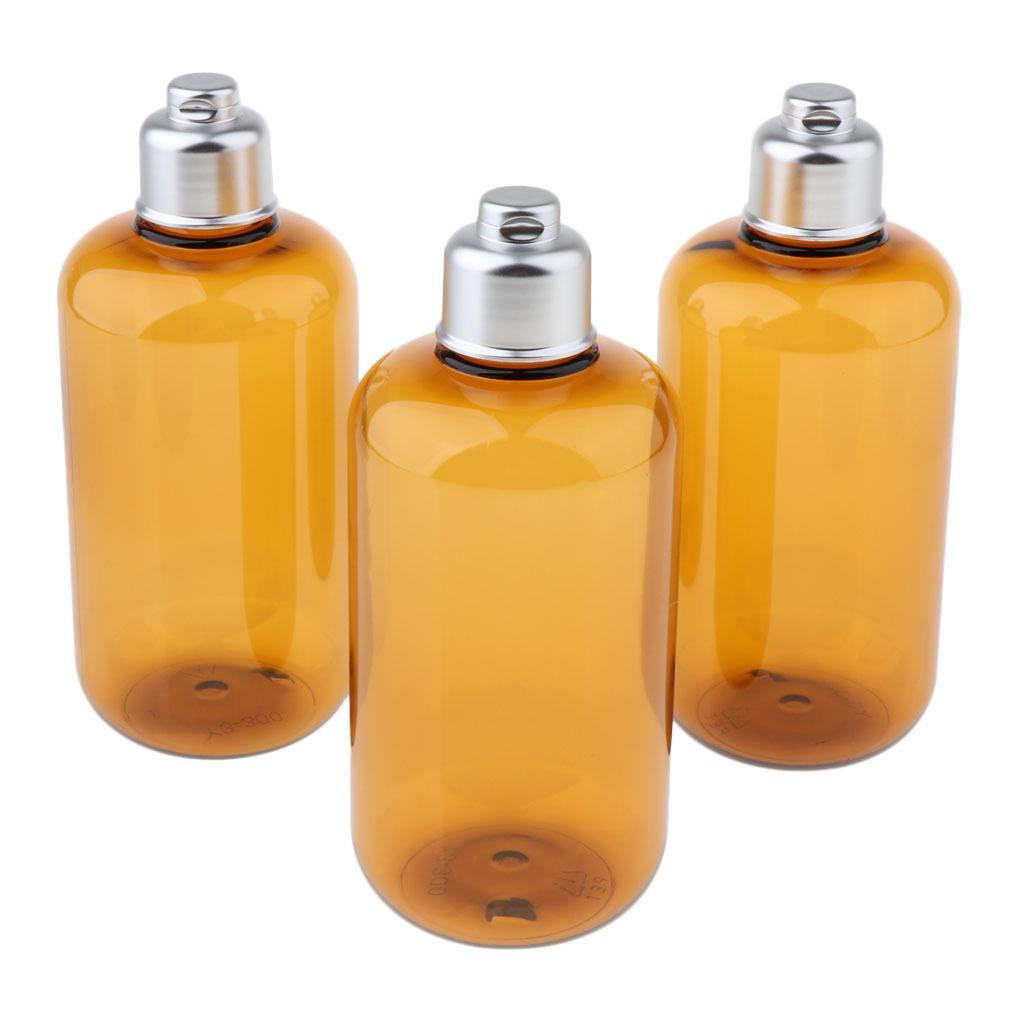 3stk-Kunststoff-Quetschflasche-Kosmetikflasche-Reiseflasche-Fluessigkeit Indexbild 5