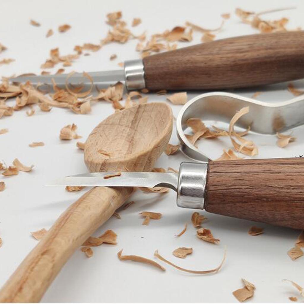 Strumenti-di-Intaglio-del-legno-Set-Gancio-Intaglio-Taglierina-Scalpello-Cutter miniatura 5