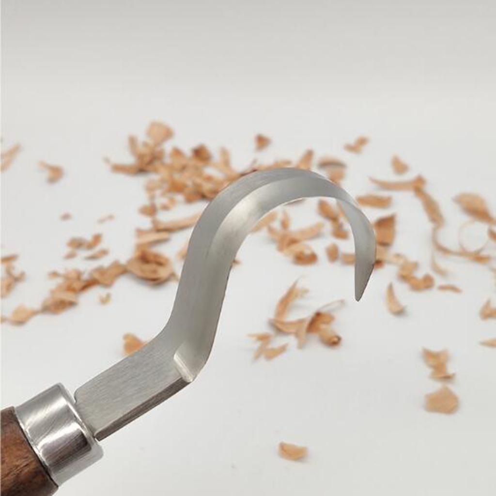 Strumenti-di-Intaglio-del-legno-Set-Gancio-Intaglio-Taglierina-Scalpello-Cutter miniatura 7