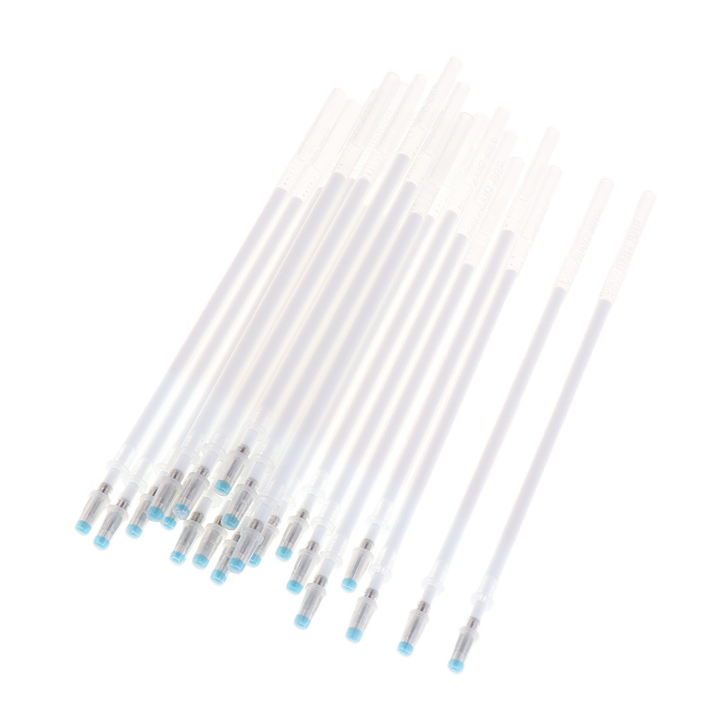 20-Stuck-Markierstiftminen-von-Leder-Marking-Pen-Hochtemperatur-Verschwinden thumbnail 13