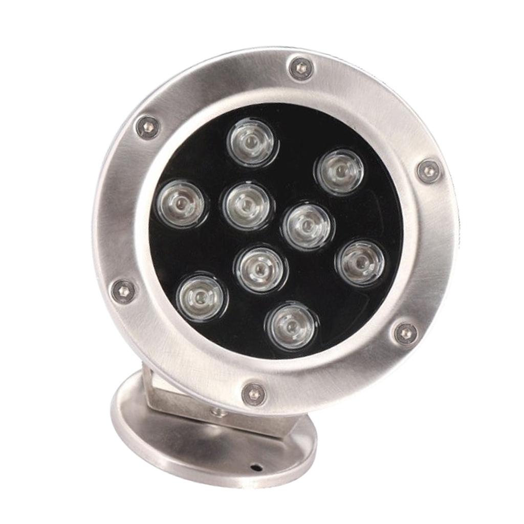 miniatura 4 - Lampada Laghetto Illuminazione Subacquea Luce Indiretta LED 9W Lega Alluminio