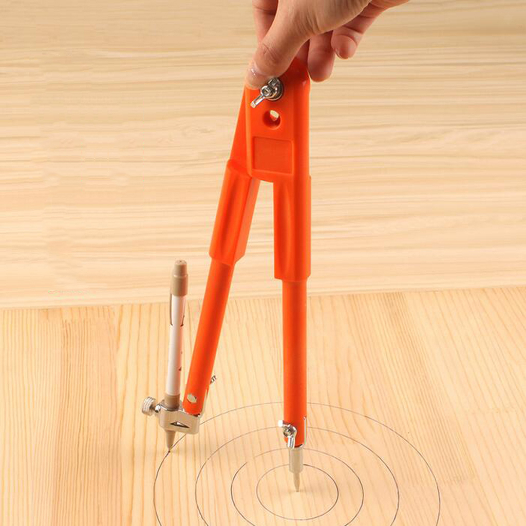 miniature 4 - Precision Drafting Scribing Compass Drawing Circles with Pencil Holder