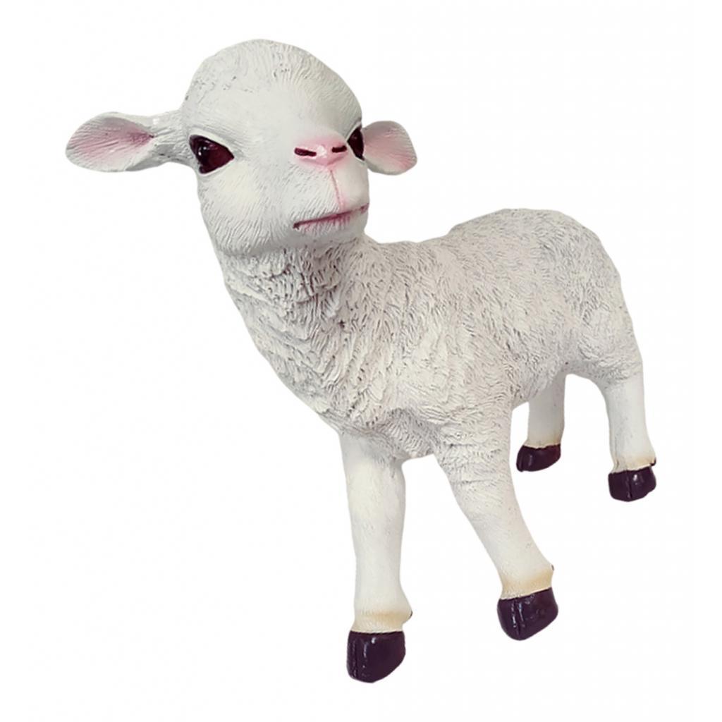 Resin Craft Sheep Statues Animal Model Garden Sculpture ...