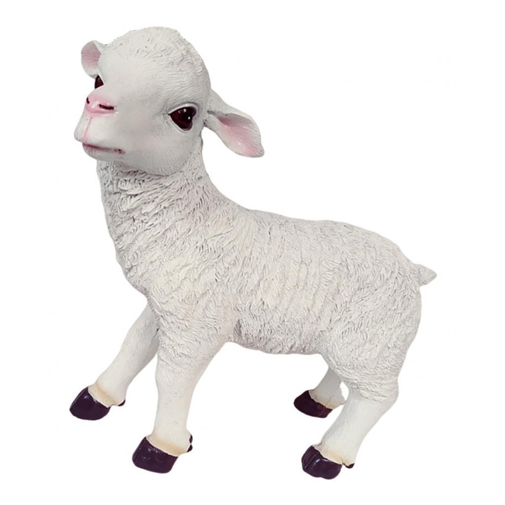 Resin Craft Farm Animal Sheep Statue Home Garden ...