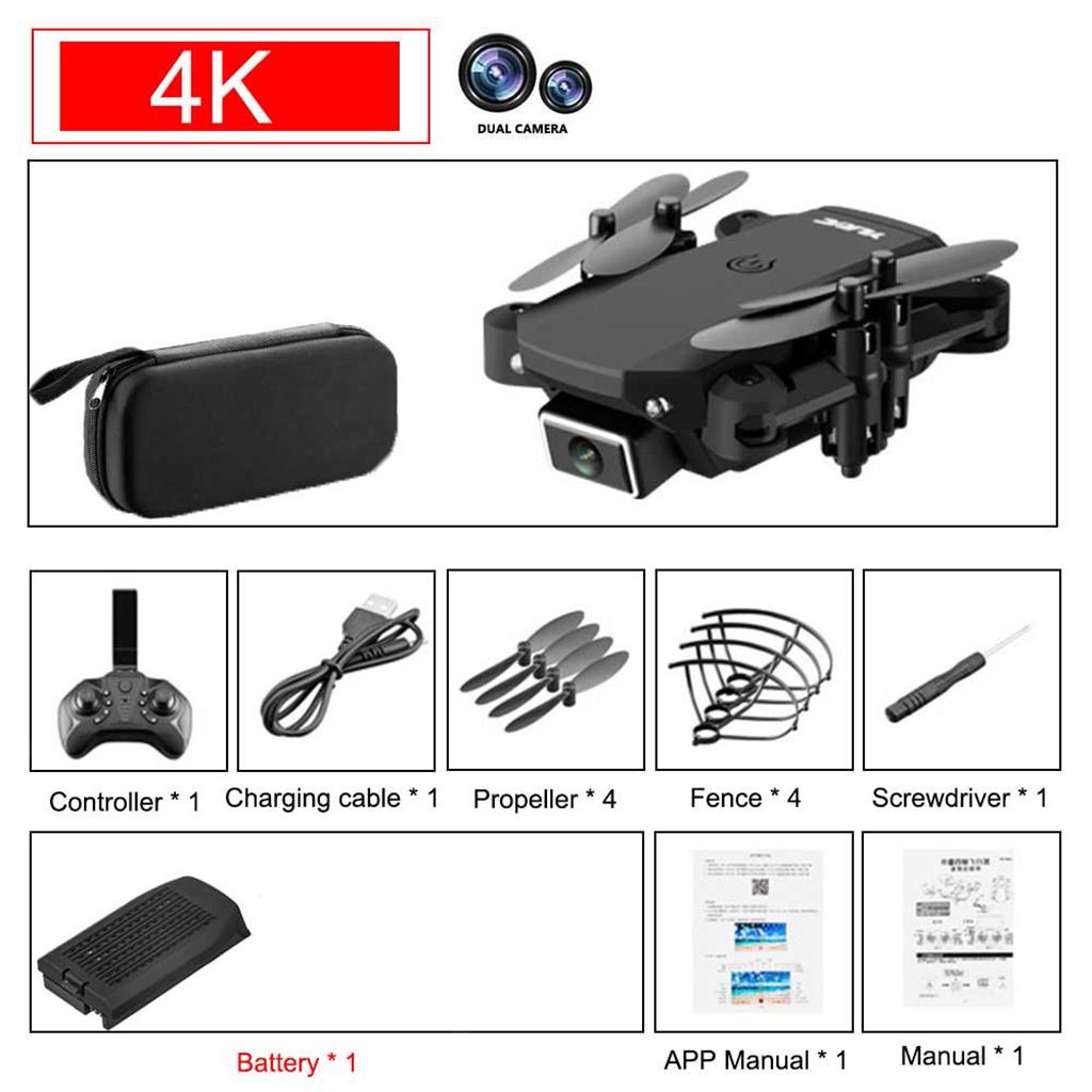 miniatura 64 - Mini Drone Una Chiave Headless Modalità di Mantenimento di Quota 6-Axis Gyro