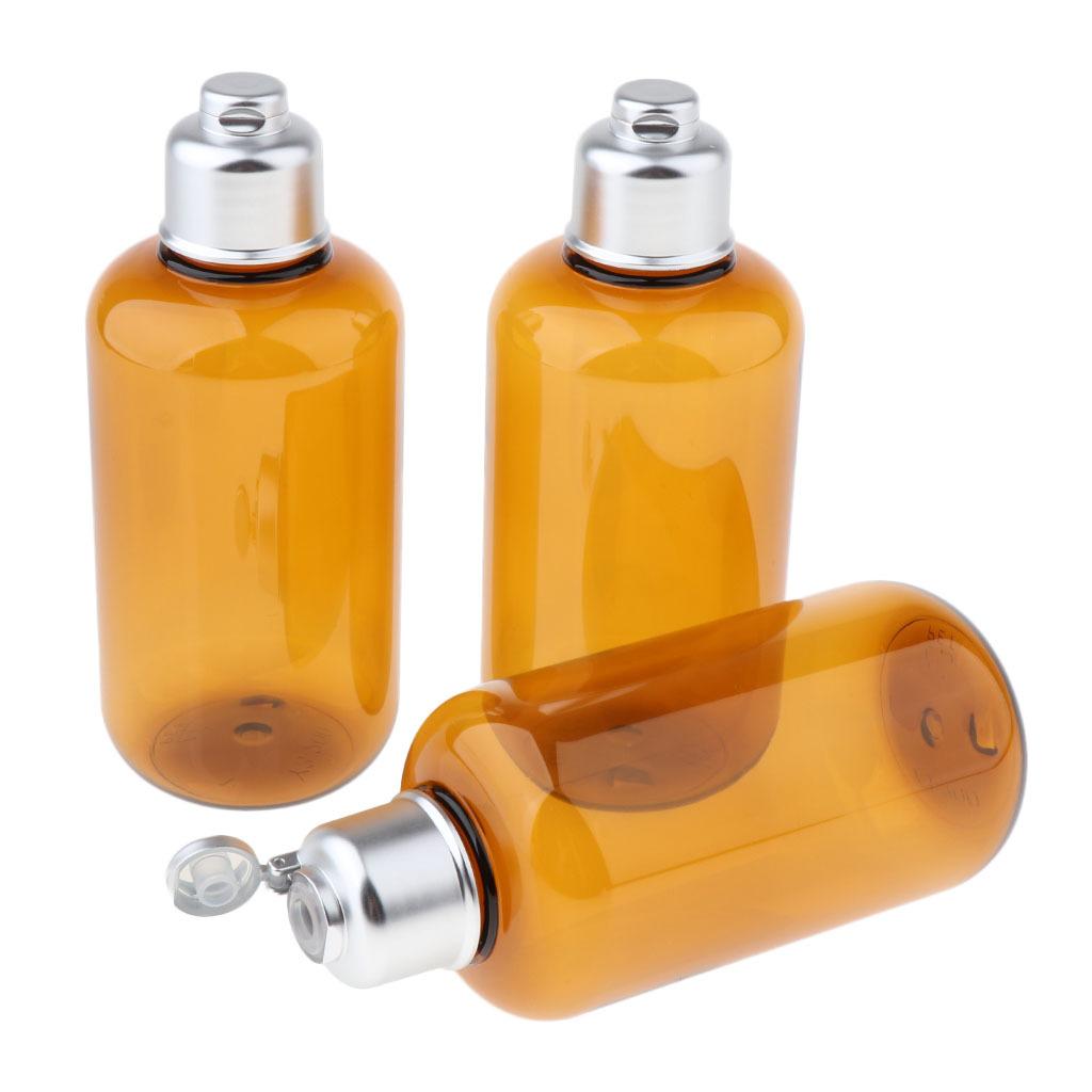 3stk-Kunststoff-Quetschflasche-Kosmetikflasche-Reiseflasche-Fluessigkeit Indexbild 10