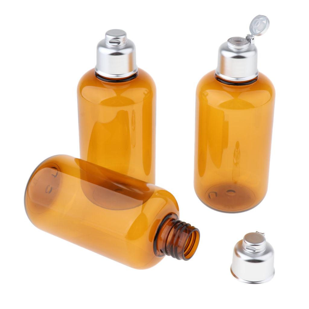 3stk-Kunststoff-Quetschflasche-Kosmetikflasche-Reiseflasche-Fluessigkeit Indexbild 9