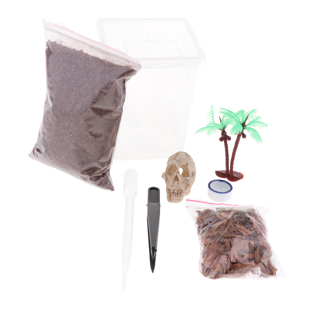 Scatola-da-Riproduzione-in-Plastica-Custodia-per-Allevamento-Terrari-Rettili miniatura 6