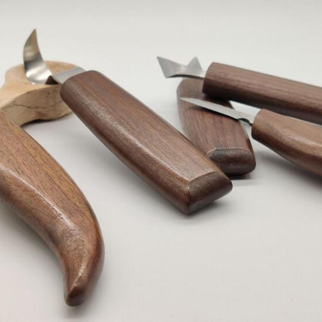 Strumenti-di-Intaglio-del-legno-Set-Gancio-Intaglio-Taglierina-Scalpello-Cutter miniatura 14