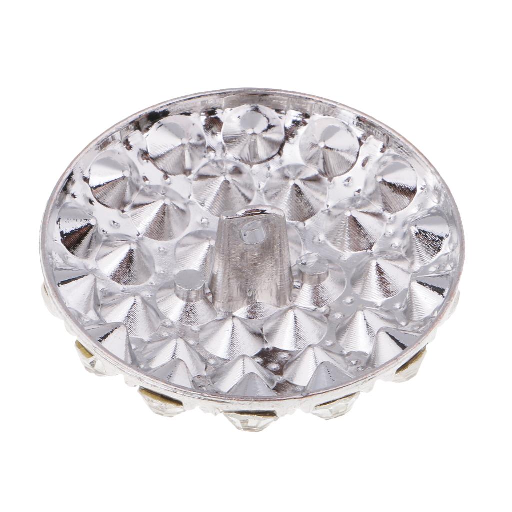 Kristall-Strass-Rund-Knoepfe-Verschoenerung-Craft-Decor Indexbild 6