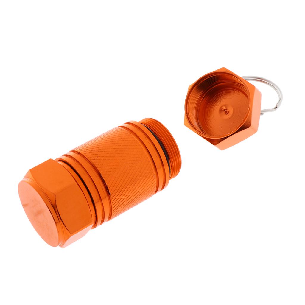 Cartuccia-portacontainer-in-alluminio-con-contenitore-per-pillole miniatura 8