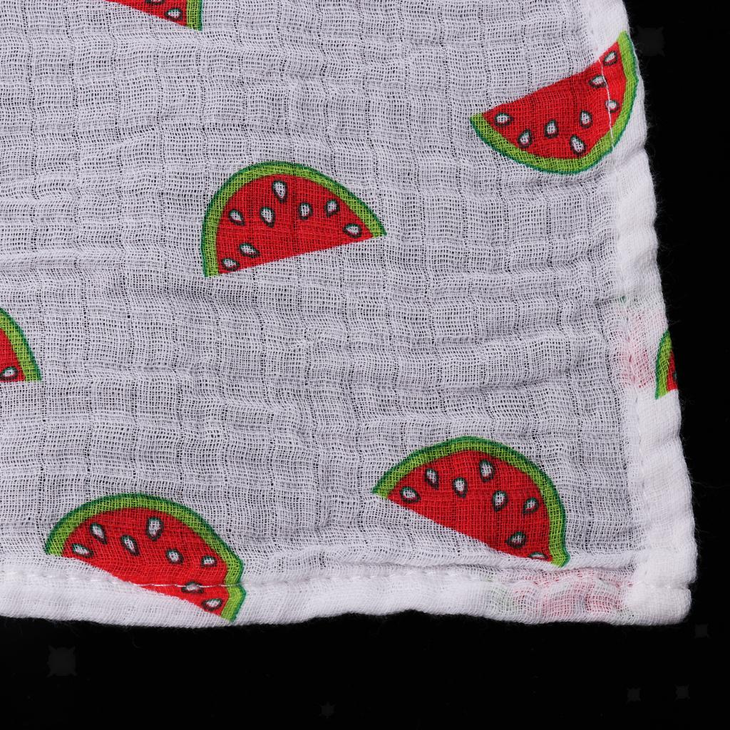 Baby-Musselin-Swaddle-Decke-Tuecher-110x110-cm Indexbild 16