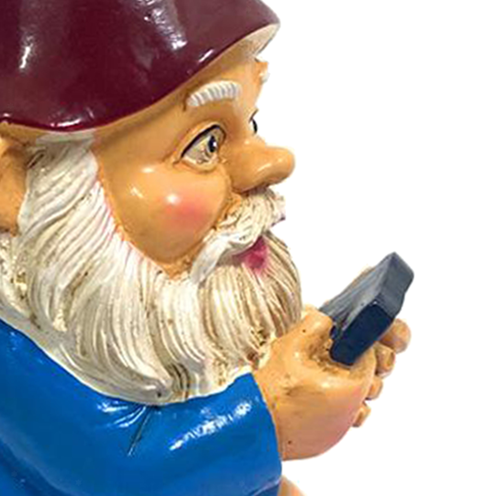 thumbnail 33 - Funny Resin Naughty Garden Gnome Statue Ornaments Villa Home Figurines Decor AU